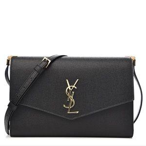{Saint Laurent} Caviar Black Crossbody Bag